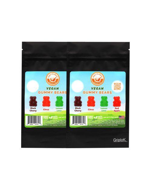Vegan Gummy Bears 2 Pack