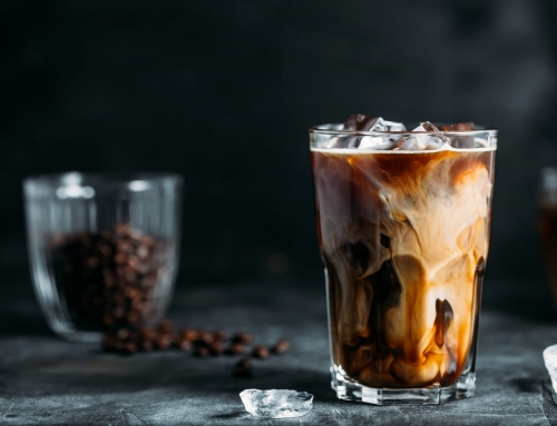 CBD Coconut Milk Iced Coffee Recipe